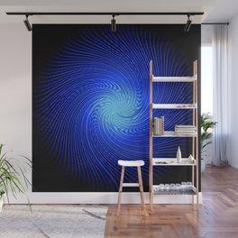 Blue Spirit Circle 2 Wall Mural