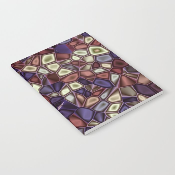 Fractal Gems 01 - Fall Vibrant Notebook