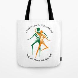 Love's Rhythm Tote Bag