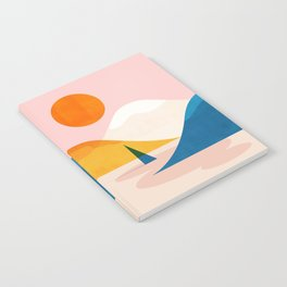 Abstraction_Lake_Sunset_Minimalism_002 Notebook