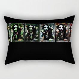 One To Six Rectangular Pillow
