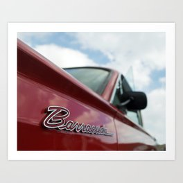 1964 Plymouth Barracuda Art Print