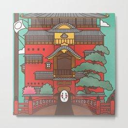 Kaonashi Metal Print