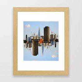 Modern Island Framed Art Print