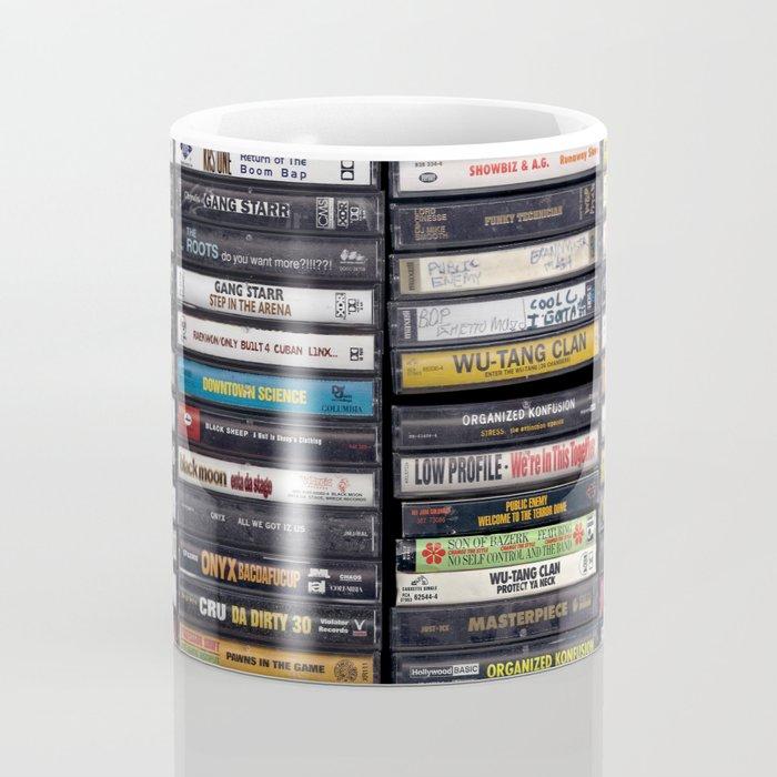 Old 80's & 90's Hip Hop Tapes Kaffeebecher