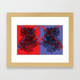 Line Abstraction I Framed Art Print
