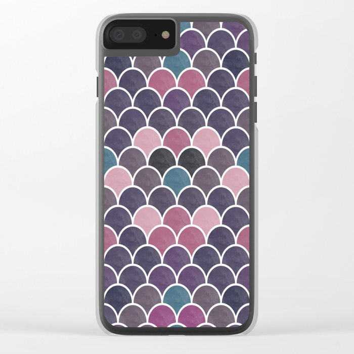 Lovely Pattern VVXVIV Clear iPhone Case