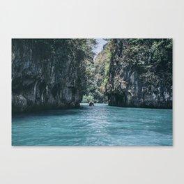 The Secret Lagoon Canvas Print