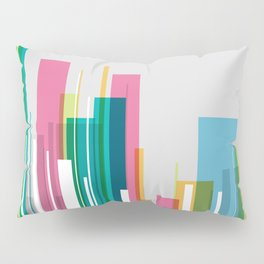 city of bright opportunities Pillow Sham