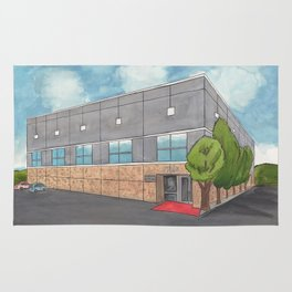 Dunder Mifflin Scranton Business Park Rug
