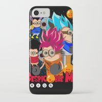 dragonball iPhone & iPod Cases featuring Rise of Mini Dragonball by cungtudaeast