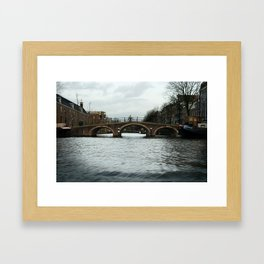 + Rolling the Bridge, Amstedam (NLD) Framed Art Print