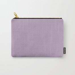 Plain Light Purple lavender Monochrome  Carry-All Pouch