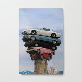 car pile Metal Print