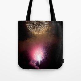 Fireworks Display Tote Bag