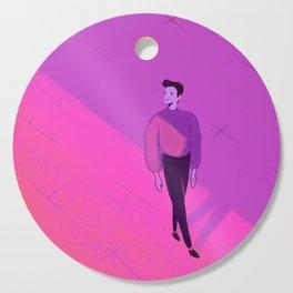 walking man Cutting Board