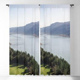 The Columbia River Gorge IV Blackout Curtain