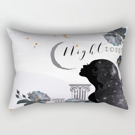 Night Court Rectangular Pillow