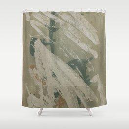 Erased Shower Curtain