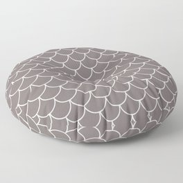 Warm Gray Scales Floor Pillow