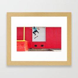 Backside Flip Framed Art Print