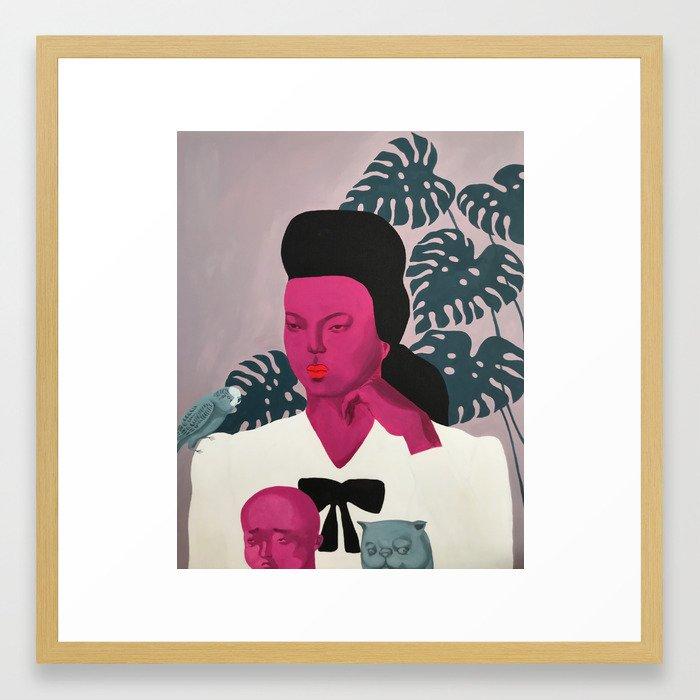 The descendants Framed Art Print