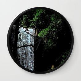 Cucumber Falls Wall Clock