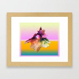 Clashing Stars Print Framed Art Print