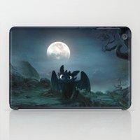 targaryen iPad Cases featuring TOOTHLESS halloween by kattie flynn