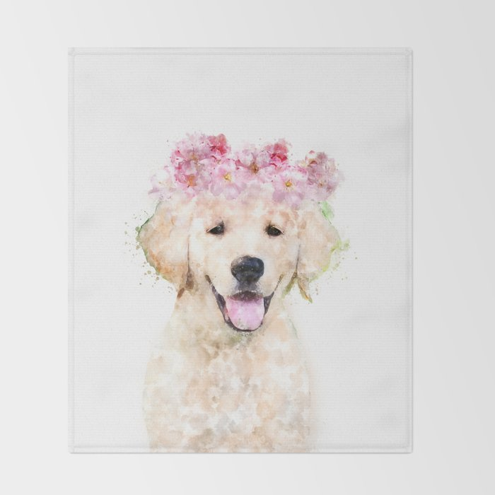 Flowers Hy Puppy Nursery Decor