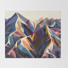 Mountains original Throw Blanket
