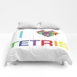 I heart Tetris Comforters