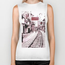 The train is coming soon.... Biker Tank