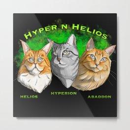 Hyper n Helios Metal Print