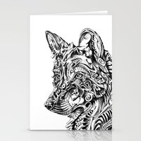 dreamer Stationery Cards featuring Dreamer by René Campbell
