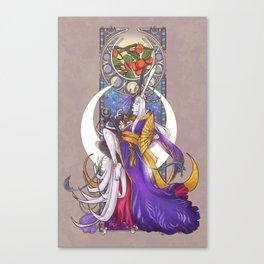 Lunar Repose Canvas Print