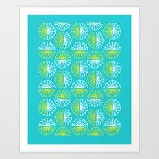 Circles Art Print