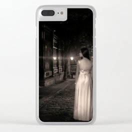 Cry for Help Clear iPhone Case