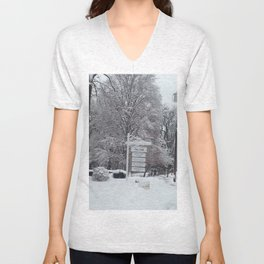 Maplewood - The Mill - Winter Unisex V-Neck