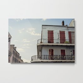 French Quarter Blues, No. 2 Metal Print