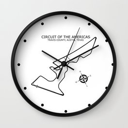 Circuit of the Americas Wall Clock