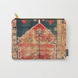 Konya Central Anatolian Niche Rug Print Carry-All Pouch