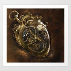 The Clockwork Music - fig.5 Art Print