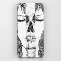 sleeping beauty iPhone & iPod Skins featuring sleeping beauty by Sheryn Ng (rynisyou)