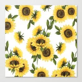 Lovely Sunflower Canvas Print