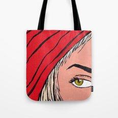 Red Secret Tote Bag