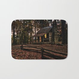 Secluded Cabin Bath Mat