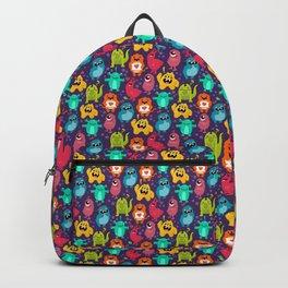 Monster Love seamless pattern Backpack