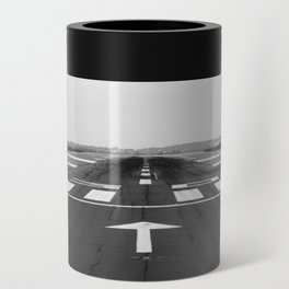 Clear Runway Can Cooler