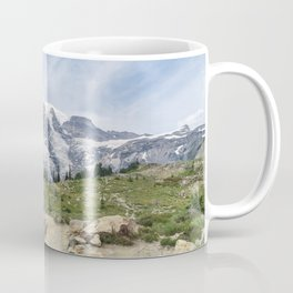 Trail Up Rainier Color Coffee Mug